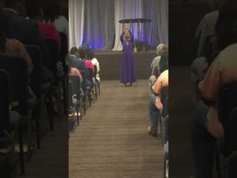 All mighty God ( Isabella Davis) Gabby's praise dance