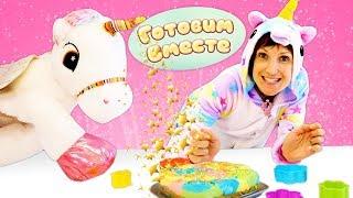 Фото Радужный торт для Единорога - Маша Капуки и Игры для детей
