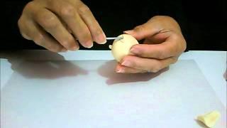 Como fazer cabecinha de boneca de biscuit