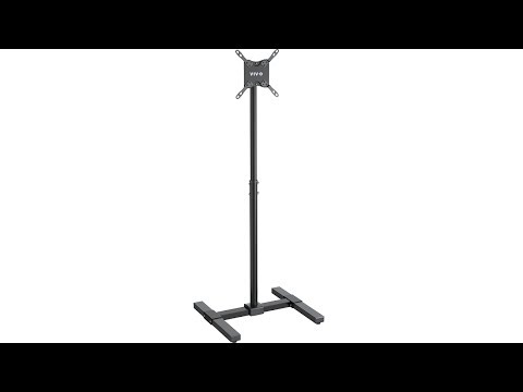 "VIVO TV Display  Floor Stand Height Adjustable Mount for Flat Panel Screen 13"" to 42"" (STAND-TV07)"