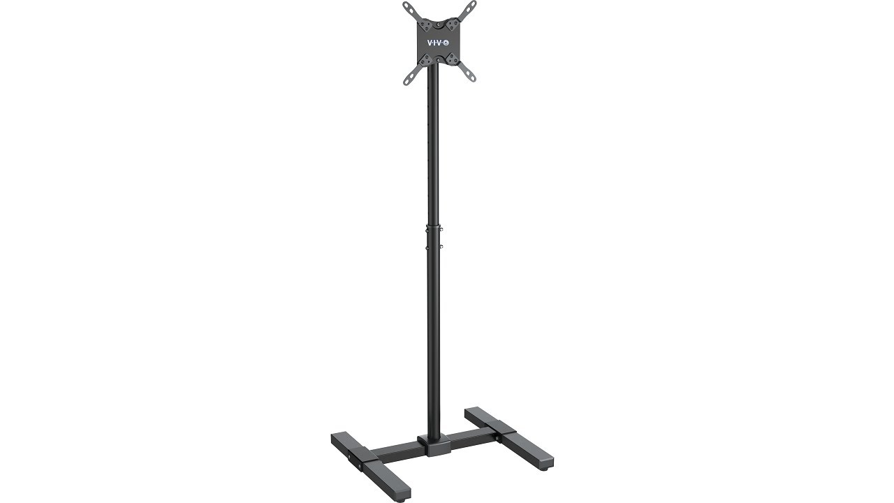 Floor tv stands for 55 inch flat screens - Vivo Tv Display Floor Stand Height Adjustable Mount For Flat Panel Screen 13 To 42 Stand Tv07