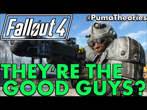 Fallout 4: Why The Brotherhood of Steel Ending is Good for the Commonwealth #PumaTheories