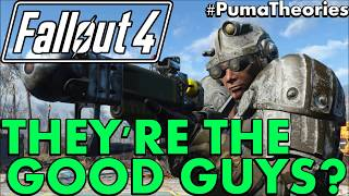 Fallout 4 Why The Brotherhood of Steel Ending is Good for the Commonwealth PumaTheories