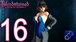 Bloodstained Ritual Of The Night 2K Walkthrough - Part 16 - Carpenter's Room