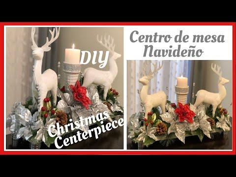 Decoración navideña/centro de mesa o para la chimenea