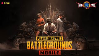 Pubg Mobile Live --Funny Game Play--!!shout-casting!! Road to 130K Subs