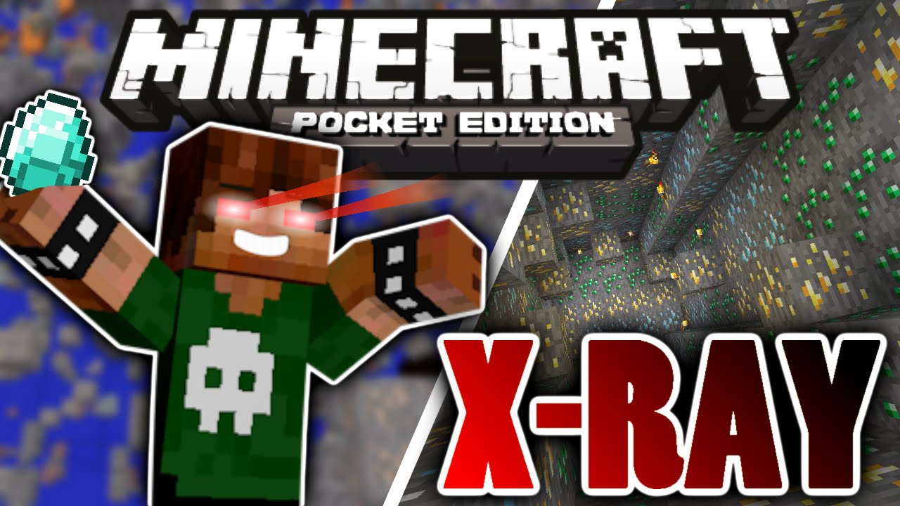X Ray In Minecraft Pocket Edition No Mods XRay Redstone Machine