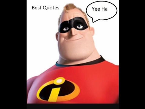 The Incredibles Quotes Interesting The Incredibles Bank Heist Best Quotes YouTube