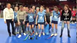 04-02-2017 Girls U14 Championnes indoor 2017