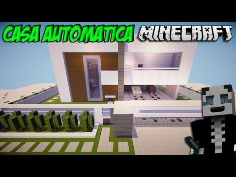 Minecraft Casa Autom Tica Gigante Youtube