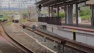 【JR西日本】まほろば送り込みの287系新大阪駅到着