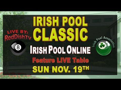 Irish Pool Classic 2017 - Final Day IPA Stream Table, Green Isle Hotel, Dublin
