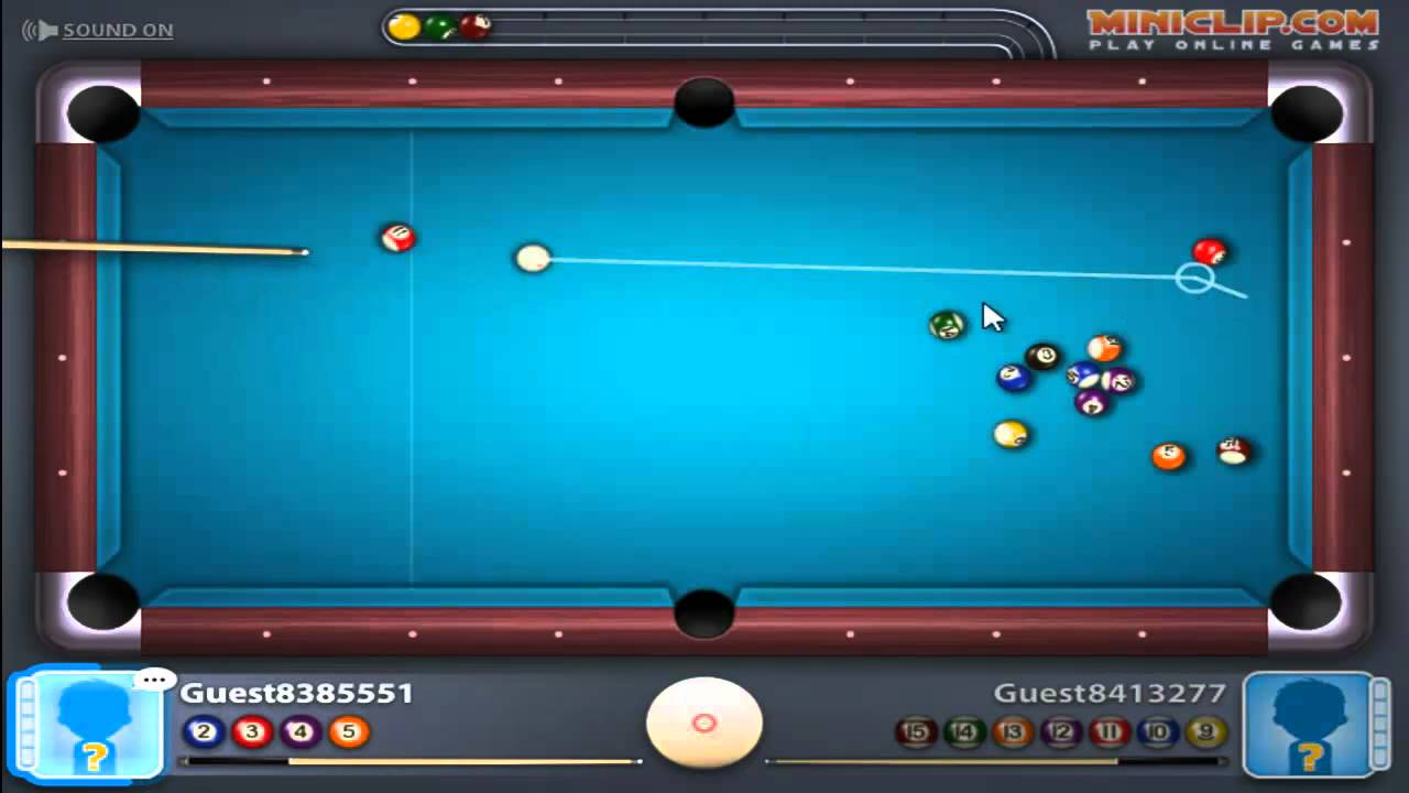 Miniclip 8 Ball Pool Multiplayer -- EPIC PERFORMANCE ...