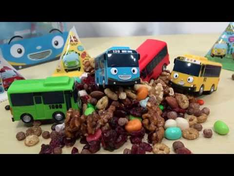 Thumbnail: Tayo the Little Bus Food for Baby & Learn Colors with Tayo