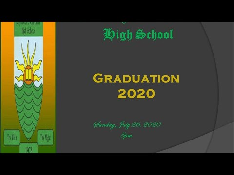 The Raymond Gardiner High School Graduation Exercise 2020 Motorcade and Service