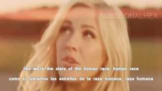 Ellie Goulding-Burn (Lyrics Sub Español) Official Video
