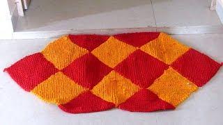पुराने दुपट्टे या साड़ी से बनाएं मार्केट जैसा सुन्दर पायदान | Paydan banane ka tareeka | Door mat