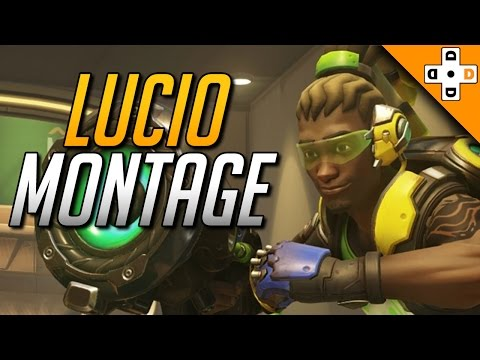 Lucio Montage - Let's Break it Down! | Overwatch