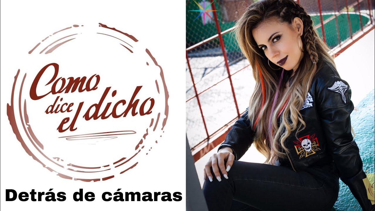 Detrás de cámaras COMO DICE EL DICHO/ grabando en PANDEMIA