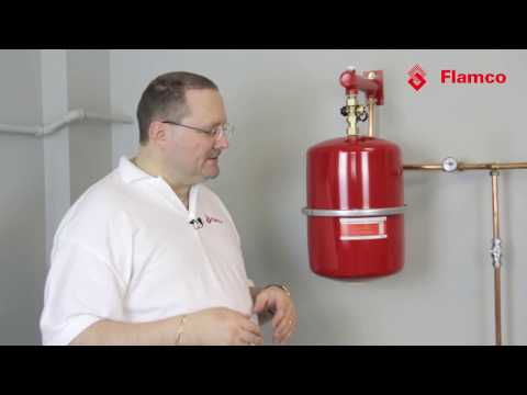 Flexcontrol: simple checking of expansion vessel pre charge