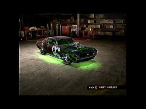 Midnight Club Los Angeles Chevrolet Camaro Rs Ss Body Kit
