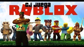 Cj Juega ROBLOX/thedarkangelsamu BLOX-Gta san andreas loquendo