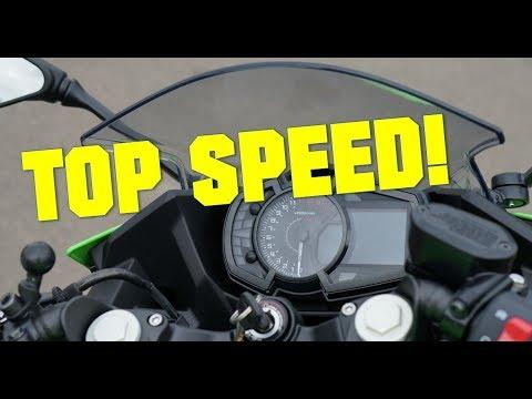 2018 Kawasaki Ninja 400 TOP SPEED