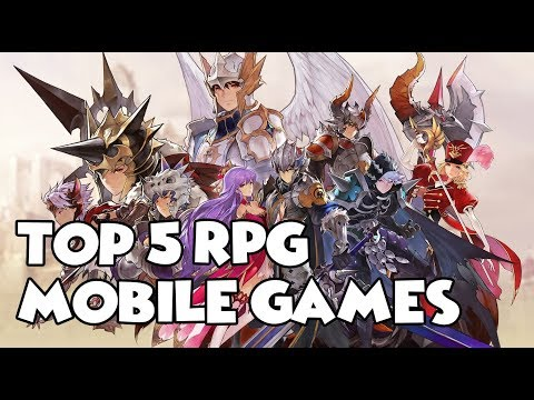 Top 5 Mobile RPG Games 2017 (Yes, Auto Play Is Available)