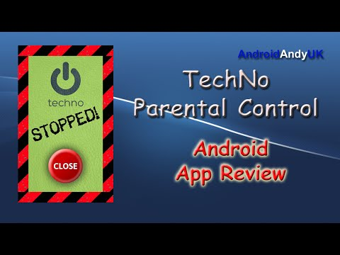 TechNo Parental Control Android App Review
