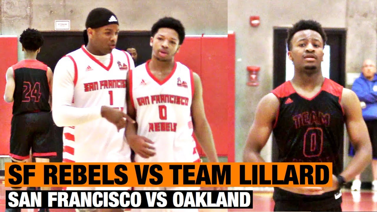 los angeles ace8e 5dcd0 San Francisco Rebels vs Team Lillard | San Francisco vs Oakland | Rebels  Easter Classic