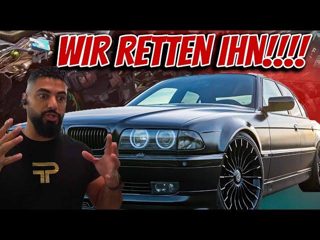 💥WIR RETTEN MEINEN 7er BMW E38!!💥