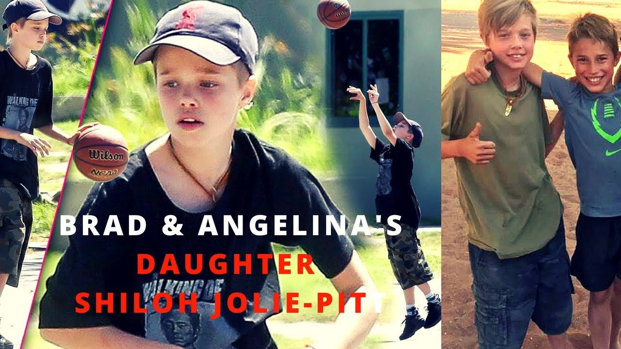 angelina jolie and brad pitts biological daughter shiloh