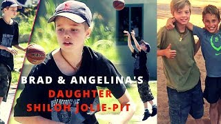 Angelina Jolie and Brad Pitt's Biological Daughter Shiloh Jolie Pitt Throughout  The Years