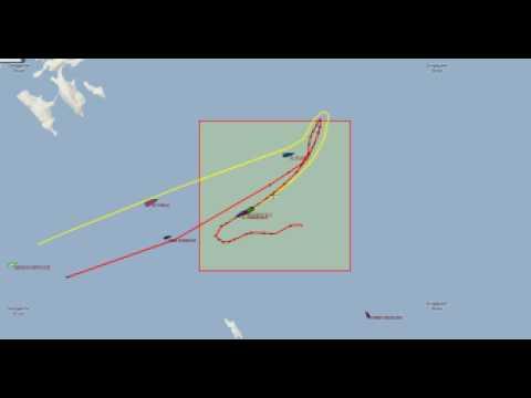 Two giants collided: Hanjin Italy vs Al Gharrafa in Malacca Strait
