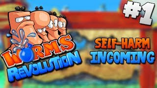 Worms Revolution: Self-harm Incoming - PART 1 - Jugs Linterfins