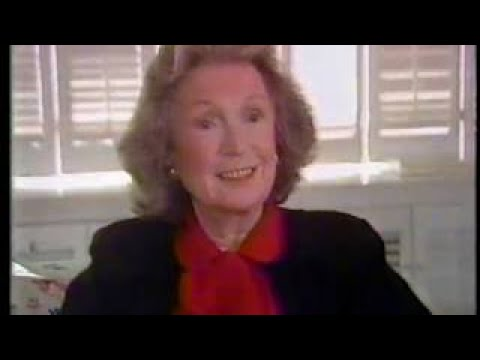 Geraldine Fitzgerald 50th Anniversary of Wuthering Heights, 1989 TV