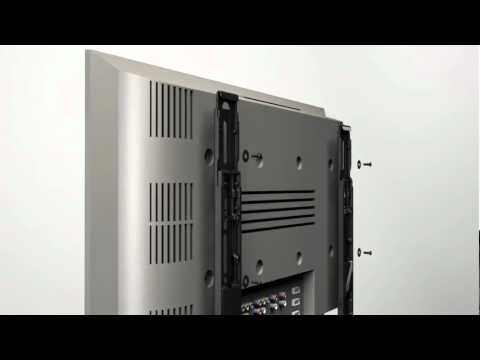 How To Install Your Sanus Ml11 Tv Mount Youtube