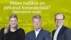 Rahaa on helppo jakaa, vaikeimmat ajat ovat vasta edessä, sanoo Jussi Kärki | Talouspulssi-studio