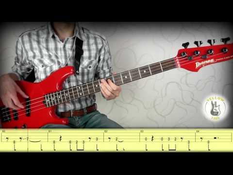 Gorillaz - Feel Good Inc. (Bass cover with tabs)