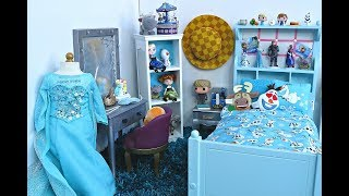 American Girl Doll Disney Frozen Elsa Room