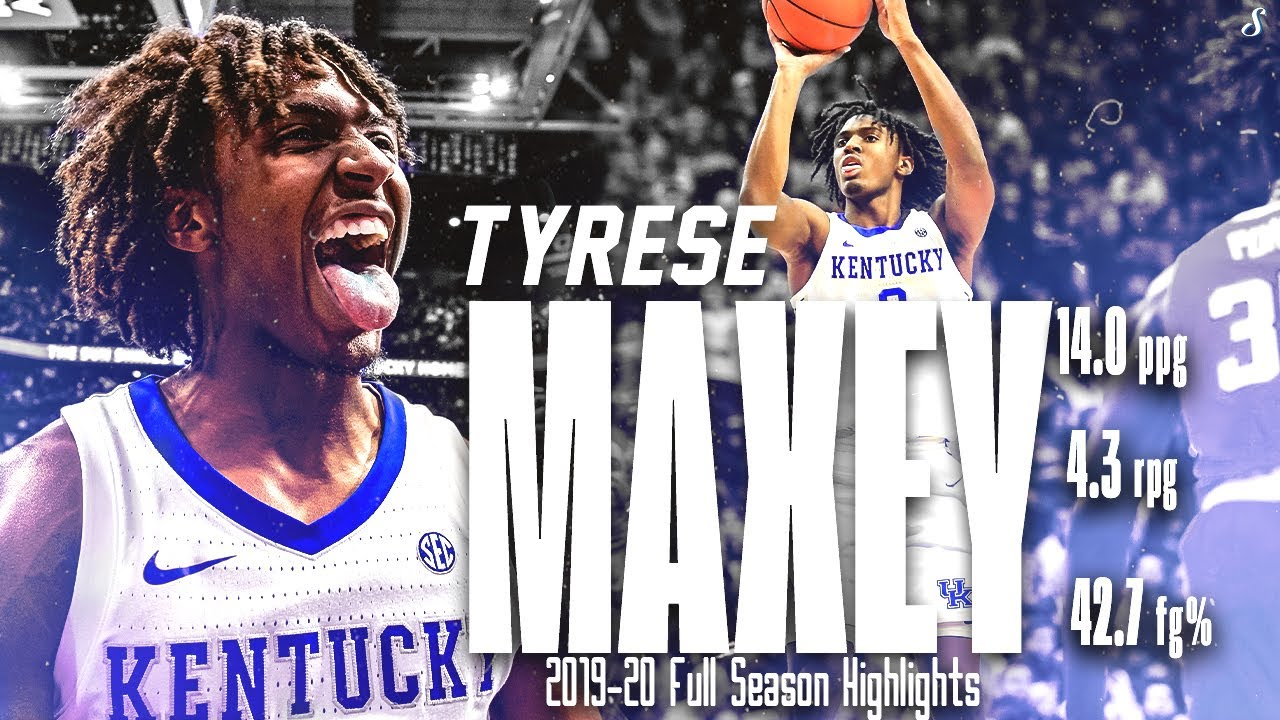 Tyrese Maxey Kentucky 2019 20 Season Montage 14 Ppg 4 3 Rpg 3 2 Apg Playmaker 76ers Youtube