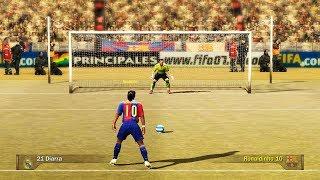 Penalty Kicks From FIFA 94 to 18