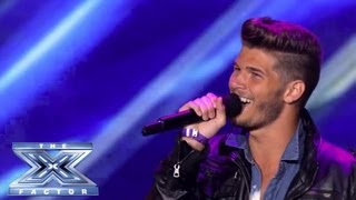 blake shankle shankle gets the shaft the x factor usa 2013