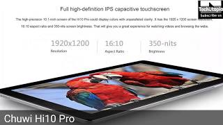 Top 5 Best Tablets from China/Mi Pad 3/EZpad 6/Hi10 Pro/OBook 20 Plus (2017)