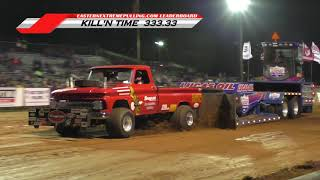 Lucas Oil PPL East Coast 6,200lb. MODIFIED 4X4 Trucks pulling at Boonsboro, MD