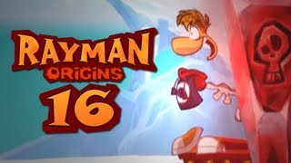 Rayman Origins CO-OP #16 - Tricky Treasure Terror