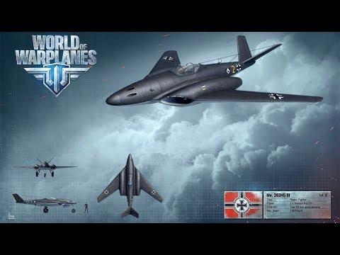 World of Warplanes | 6 Kills | Tier X German Heavy Fighter Messerschmitt Me 262 HG III.