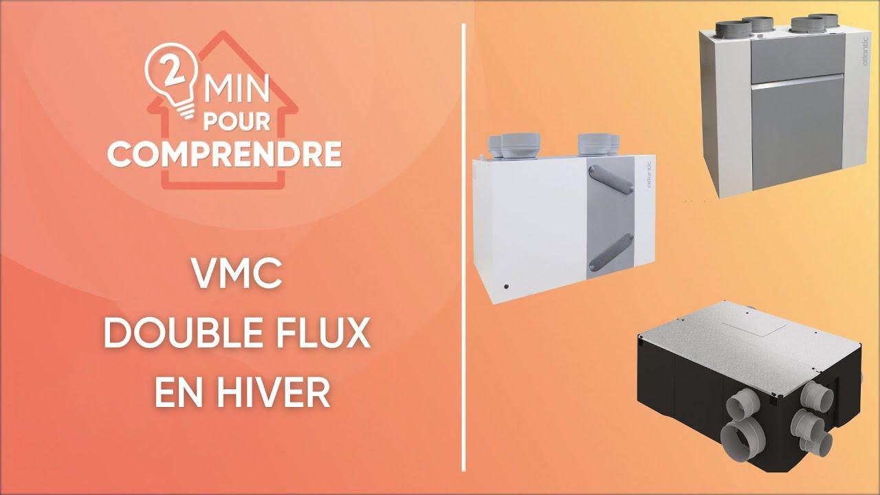 Fonctionnement d 39 une ventilation double flux en hiver for Ventilation d une maison