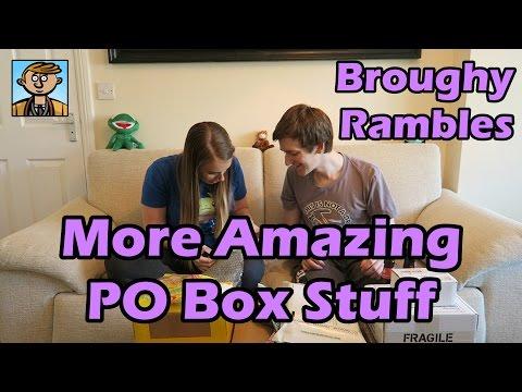 Opening More Amazing PO Box Stuff - Broughy Rambles