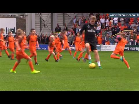 Dundee United face off against 100 young fans for McEwan Fraser Legal Biggest Home Game